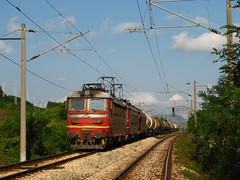 Joint Effort (Krali Mirko) Tags: train bulgaria locomotive 179 42 freight fuel 43 skoda 513 bdz zavet