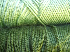 Simply Soft Yarn- Greens