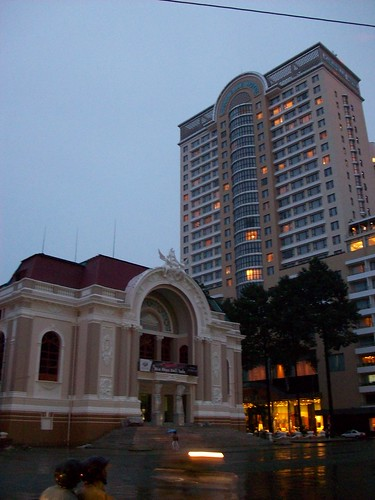 Municipal Theatre and Caravelle Hotel