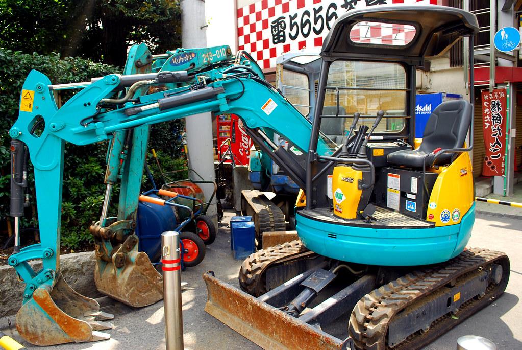 japanese construction equipment.