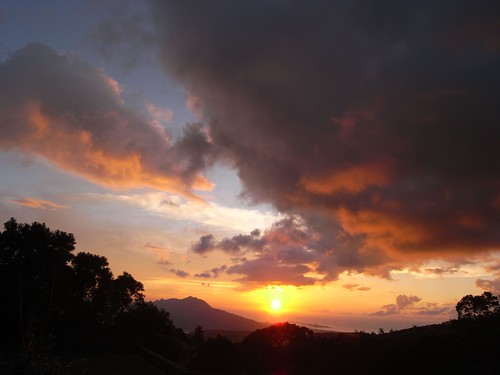 你拍攝的 77夕陽。