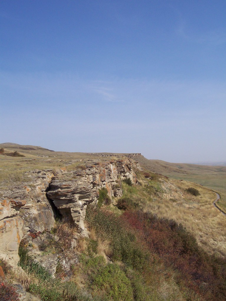Head-Smashed-In Buffalo Jump, Alberta, Canada