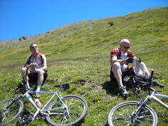 DSCN0613 (Hannibal Cycle tours / Belvedere B&B) Tags: italy holiday cycling italia mountainbike crosscountry fenestrelle valchisonemountainbike colledellefinestra alpinebiking