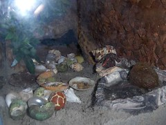 Xena Crabs way to water  Xena and GG