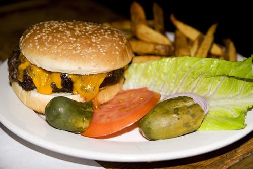 cheddar cheeseburger