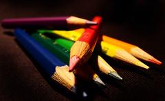 colores (UDYOVISUL) Tags: lapiz colores punta colorear