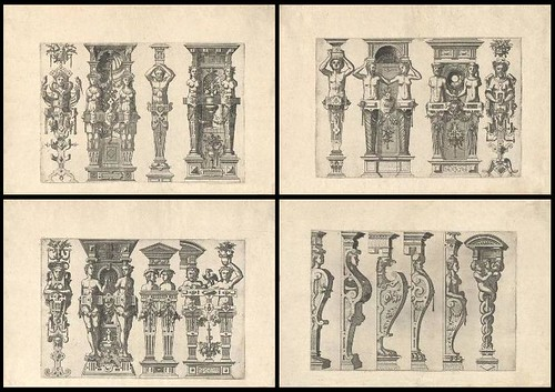 Caryatidum (Vulgas Termas vocat) 1565 quartet b