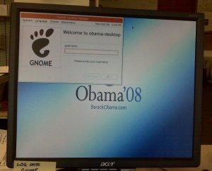 Obama Ubuntu