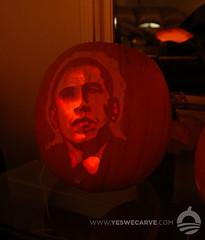 YesWeCarve.com pumpkin by Laura Enman