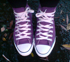 This one is for you (Kickelina) Tags: catchycolors star all converse cons chucks iwalkthrulifewearingconverse