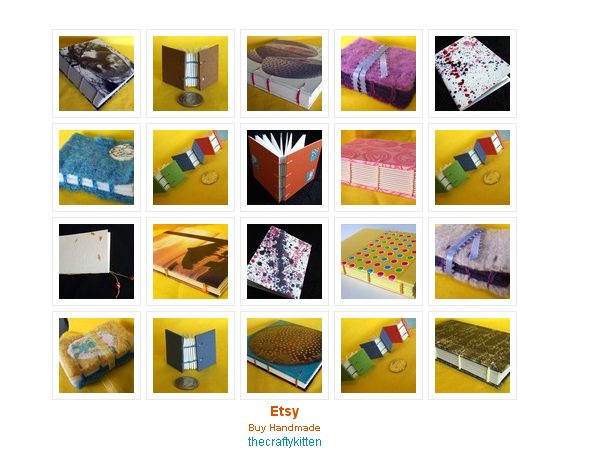 The Crafty Kitten Etsy Mini Screenshot