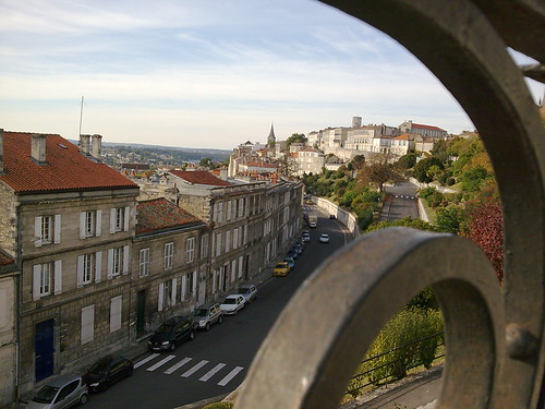 The lovely hilltop town of Angoulême. Photo: indigo_jet