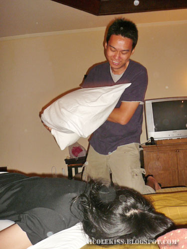 gerald pillow fight with i am not here