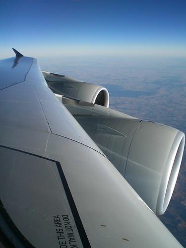 Airbus A380 over Australia