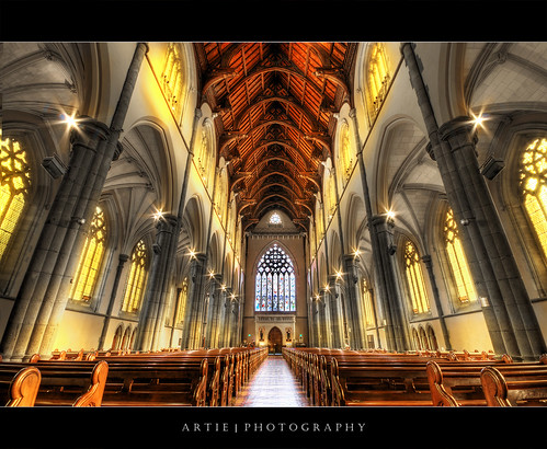 St Patrick's Cathedral, Melbourne (III) :: HDR