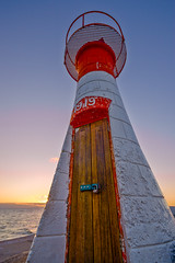 Kalk Bay Harbour Light (Steve Crane) Tags: capetown fdrtools hdr kalkbay southafrica westerncape flickrmeet harbour light lighthouse