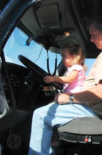 driving Papa's Big Truck