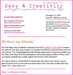 First newsletter sent out!