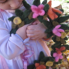 wee ones love fairy crowns (haddy2dogs) Tags: toy waldorf fairy crown etsy naturalkids nfest