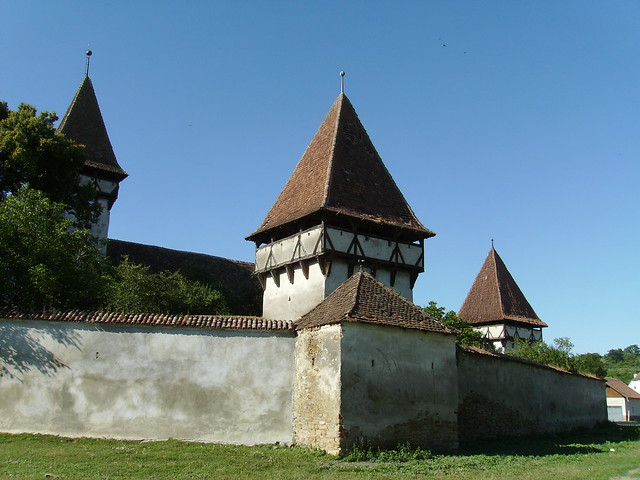 The Fortified Church of Cincsor