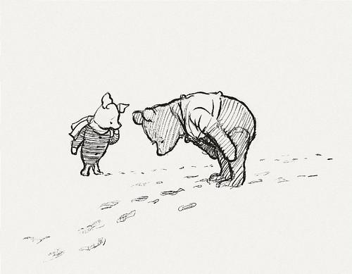 Bibliodyssey Original Winnie The Pooh Drawings