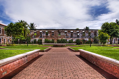 Fort Pilar (Dennison Uy) Tags: clouds landscape outdoors philippines fortress tress hdr zamboanga 18200mmf3556gvr