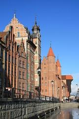 Gdańsk, Pomorze, Poland (LeszekZadlo) Tags: building architecture europe poland polska polen gdansk polonia pomerania pommern gdańsk pologne pomorze 5photosaday