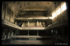 Cinema Theater Varia (Martino Zegwaard) Tags: old urban cinema building art 20d abandoned architecture canon photography theater belgium decay exploring neglected exploration martino decayed decaying urbanexploring ue urbex varia mmgzegwaard cinemavaria