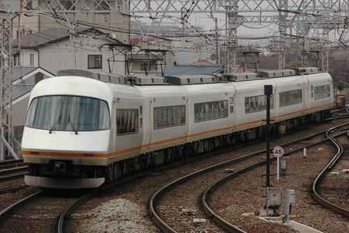 Kintetsu21000series in Yamato-Yagi,Kashihara,Nara,Japan 2008/12/13