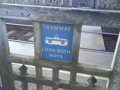 Beware trams