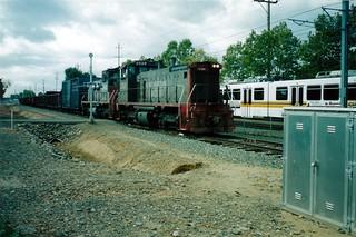 SP Placerville Branch Local -- 1990's