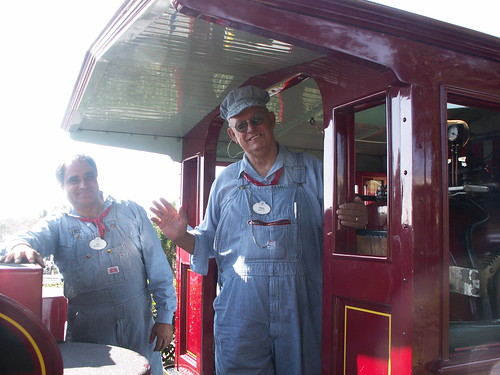 WDWRR Train Crew - Joe & Fred