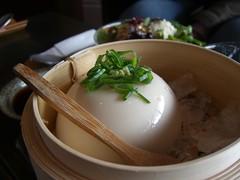 Homemade Tofu - Cocoro Cafe, QVM AUD10 set (avlxyz) Tags: food cafe lounge tofu homemade soy soybean beancurd cocoro cocorojapanesepotterylounge