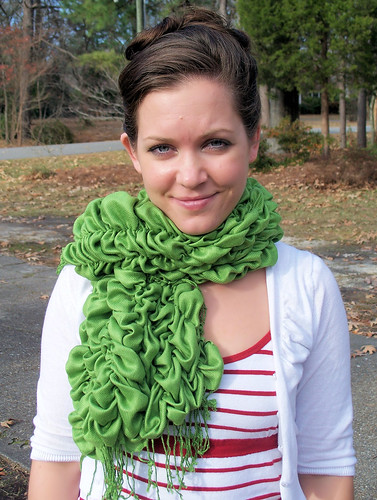 Green Scarf Upgrade