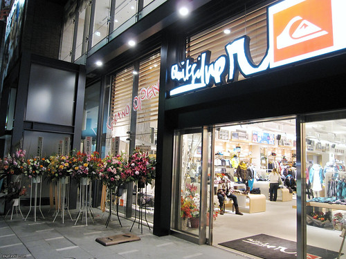 Quicksilver Japan New Shop