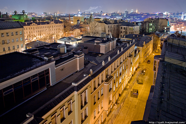 Moscow Roof Pechatniki