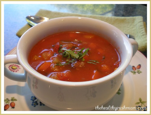 Mediterranian Veg Soup