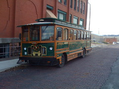 Trolley Tour in Guthrie, Oklahoma