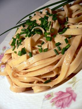 Pasta mit Sardellensauce