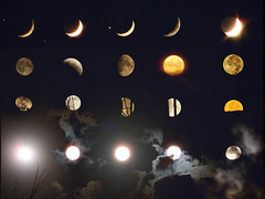 MOOOOON COLLAGE (Ahmet Okkol) Tags: moon star samsung ay 2008 hilal yldz dolunay factorx s850 samsungs850 okkol flickrlovers