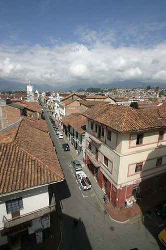 Cuenca old town...