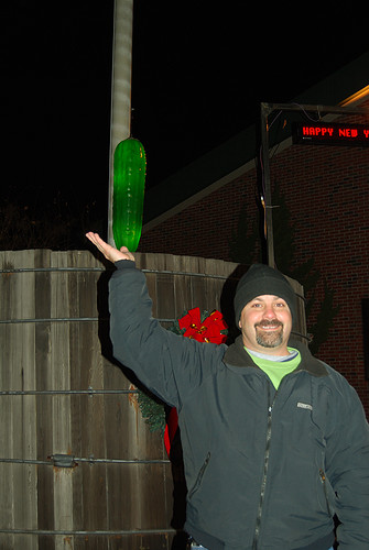 Jeff Almost Holds the Pickle