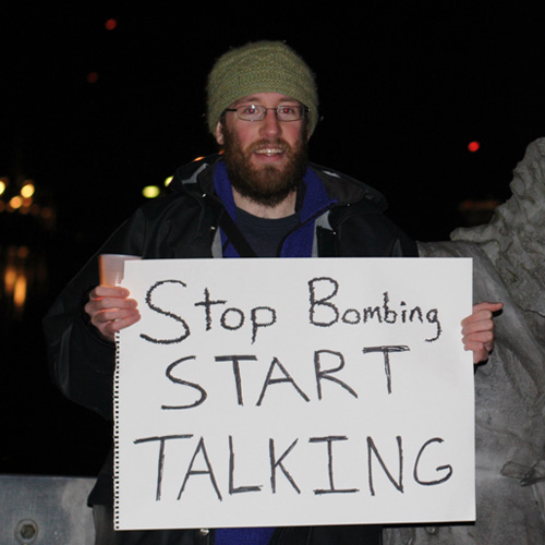 Stop Bombing—Start Talking