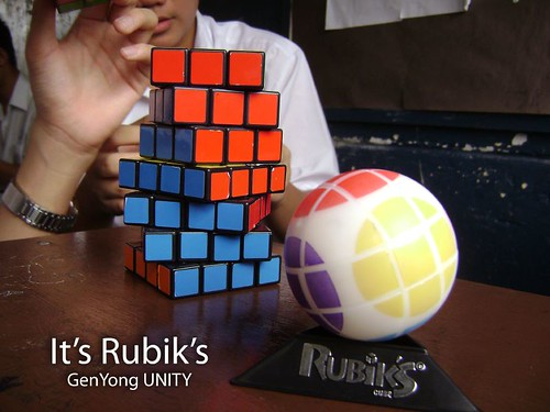 It's Rubik's