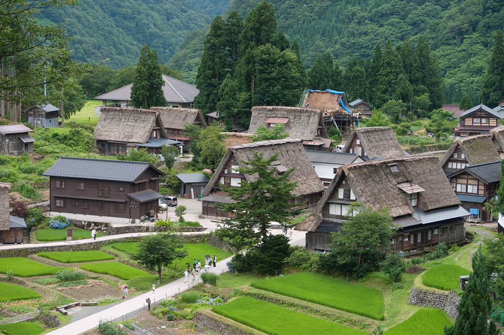 Gokayama Aikura historic village by DMC-G1 (1)