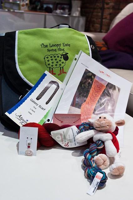 Spring Fling 2010 Goodie bag