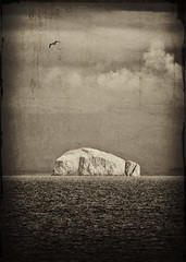 Bass Rock view from Pittenweem (gregheath) Tags: sea rock scotland bass fife forth firth photogravure pictorialism
