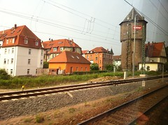 Weimar, as seen on the train from Leipzig to Erfurt
