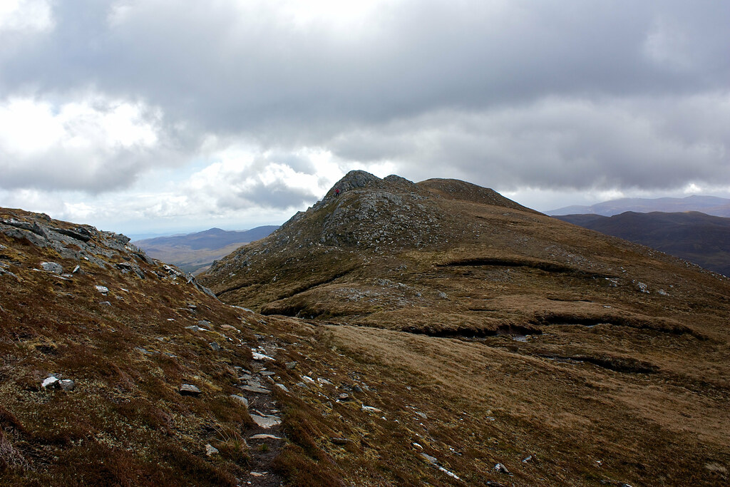 The ridge back to Creag Ruadh