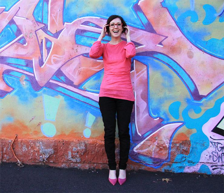 Pink Linen Top #2